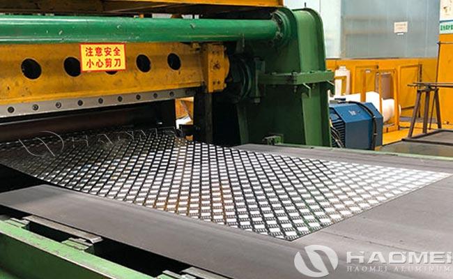 diamond aluminium floor plate factories
