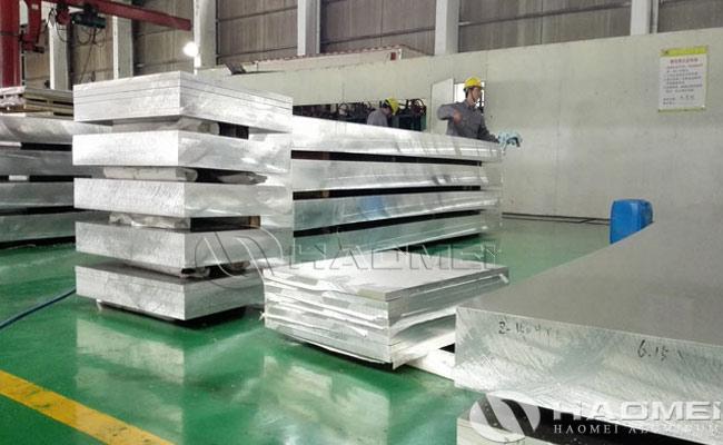 aluminum metal plate