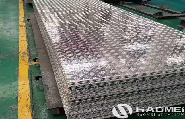aluminium chequer plate sheet sizes