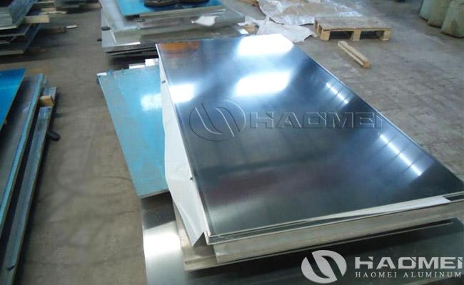 china aluminum plain sheet